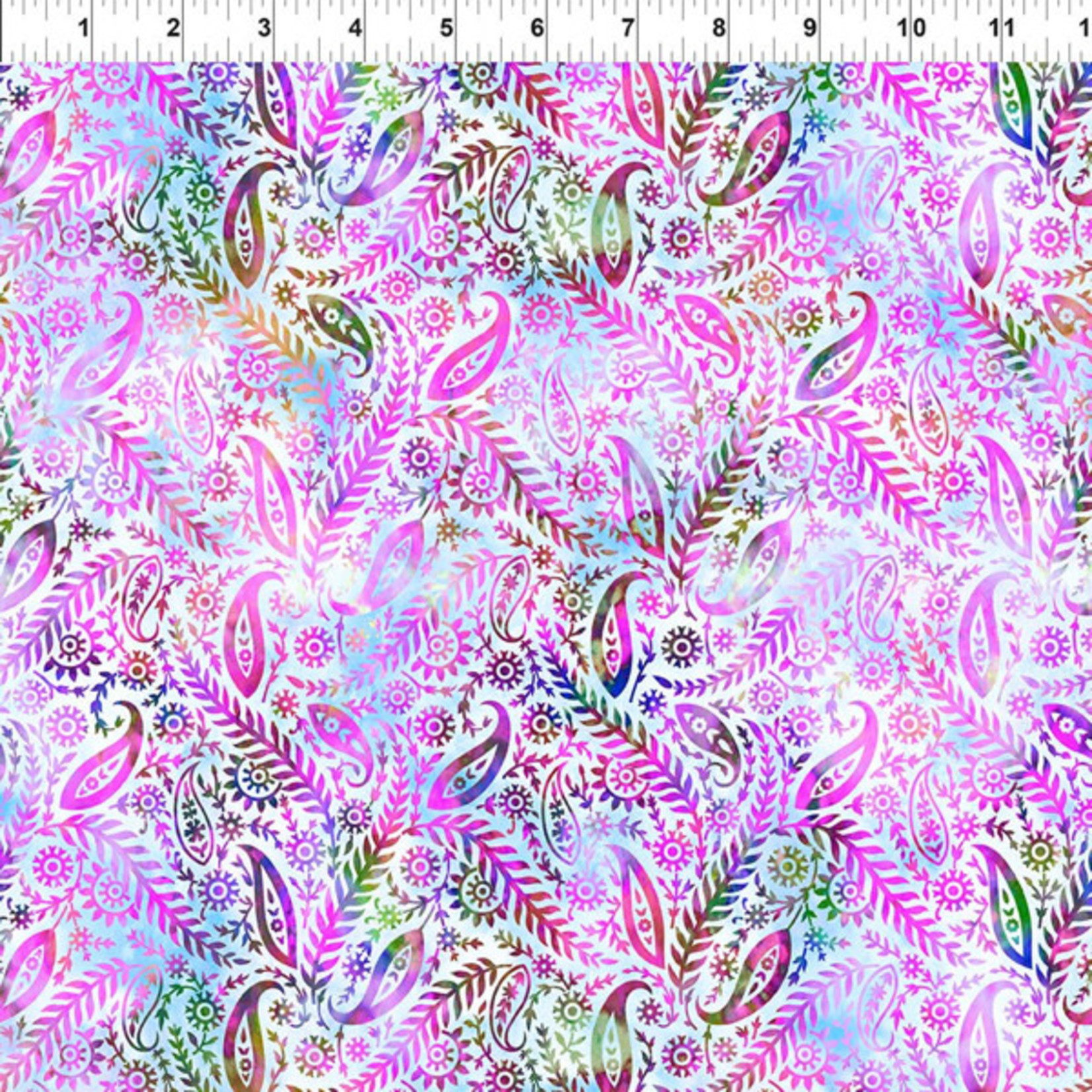 In the Beginning Fabrics Floragraphix V - Paisley - Lavender