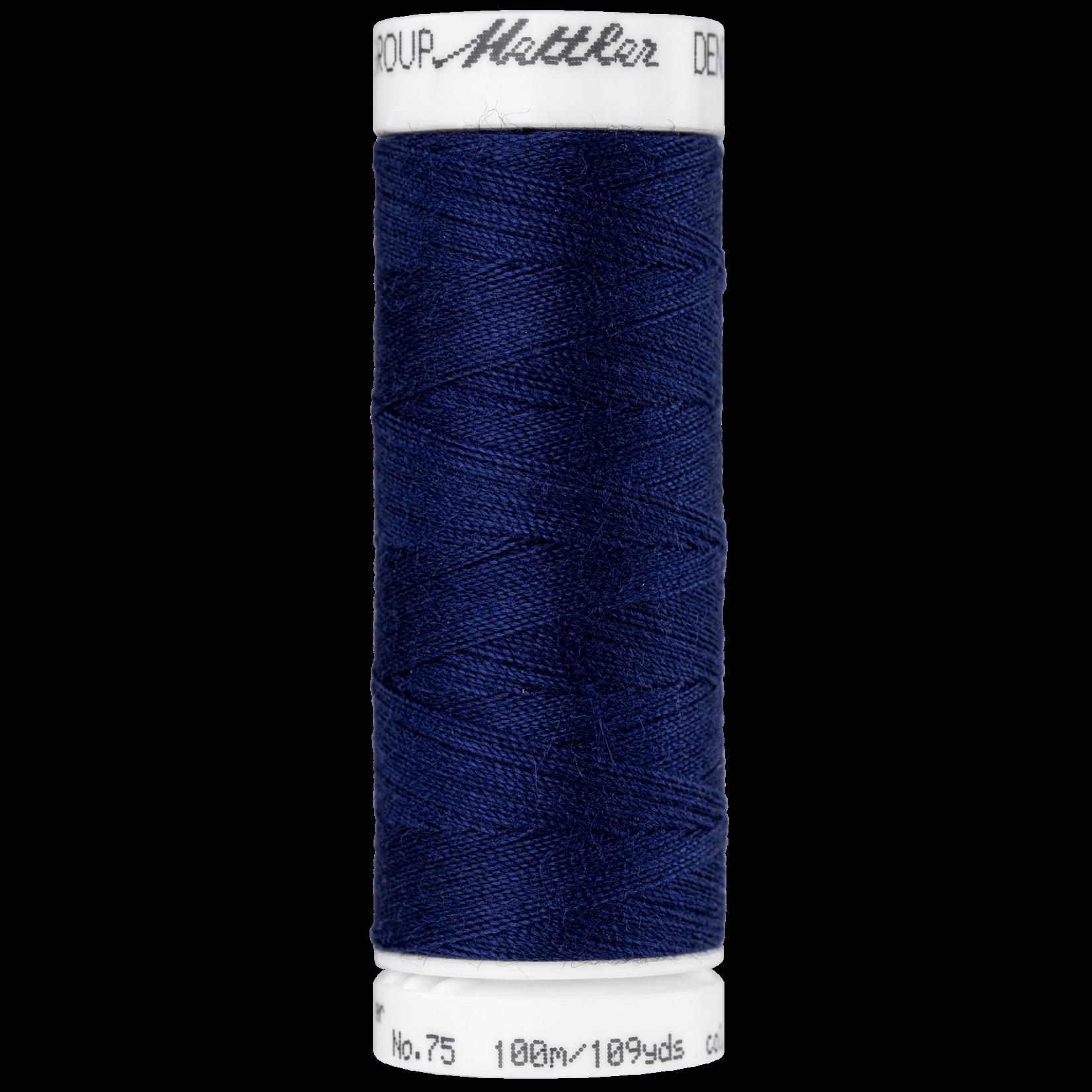 Amann Mettler Denim Doc - #75 - 100 m - 3561 Night Blue