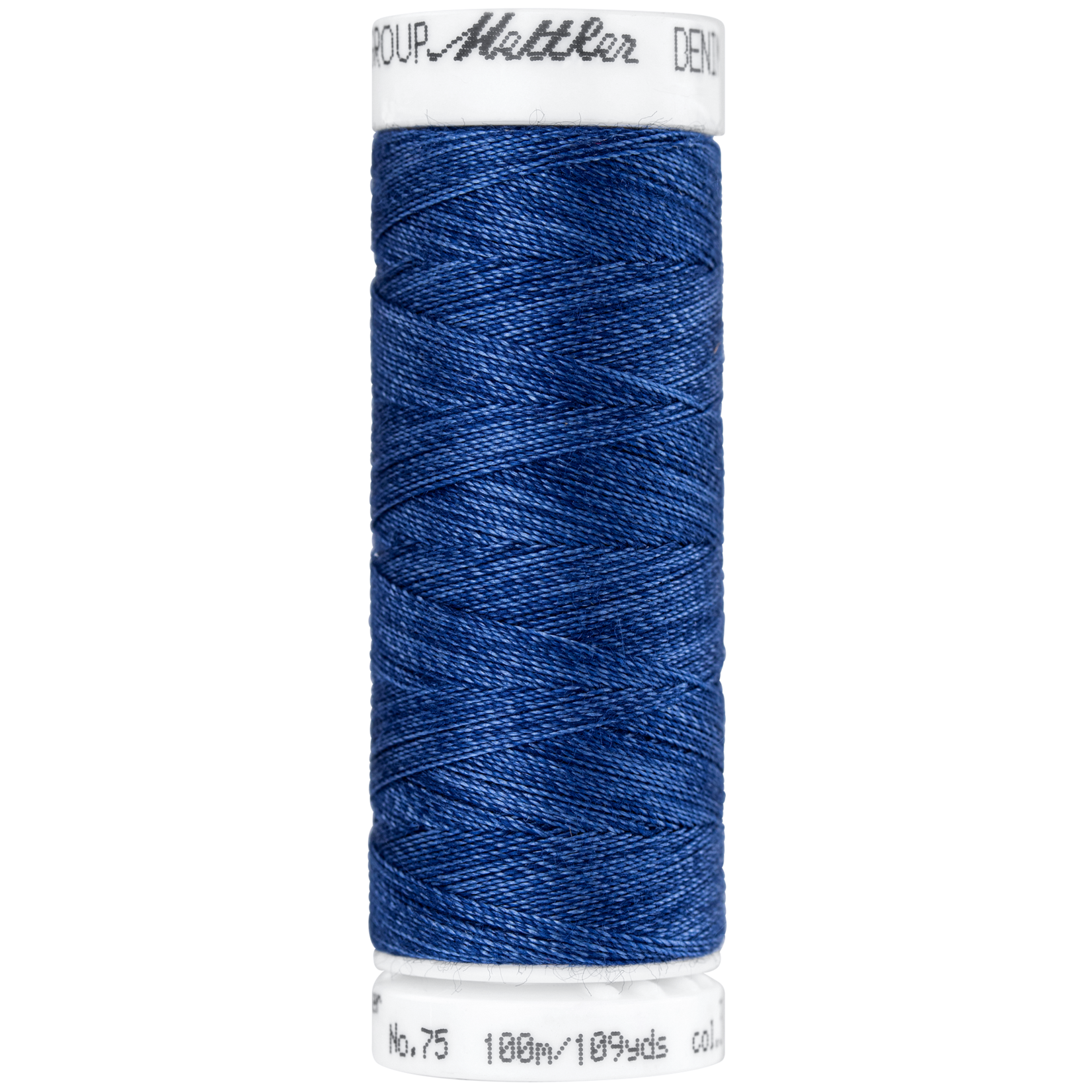 Amann Mettler Denim Doc - #75 - 100 m - 3623 Navy Blue