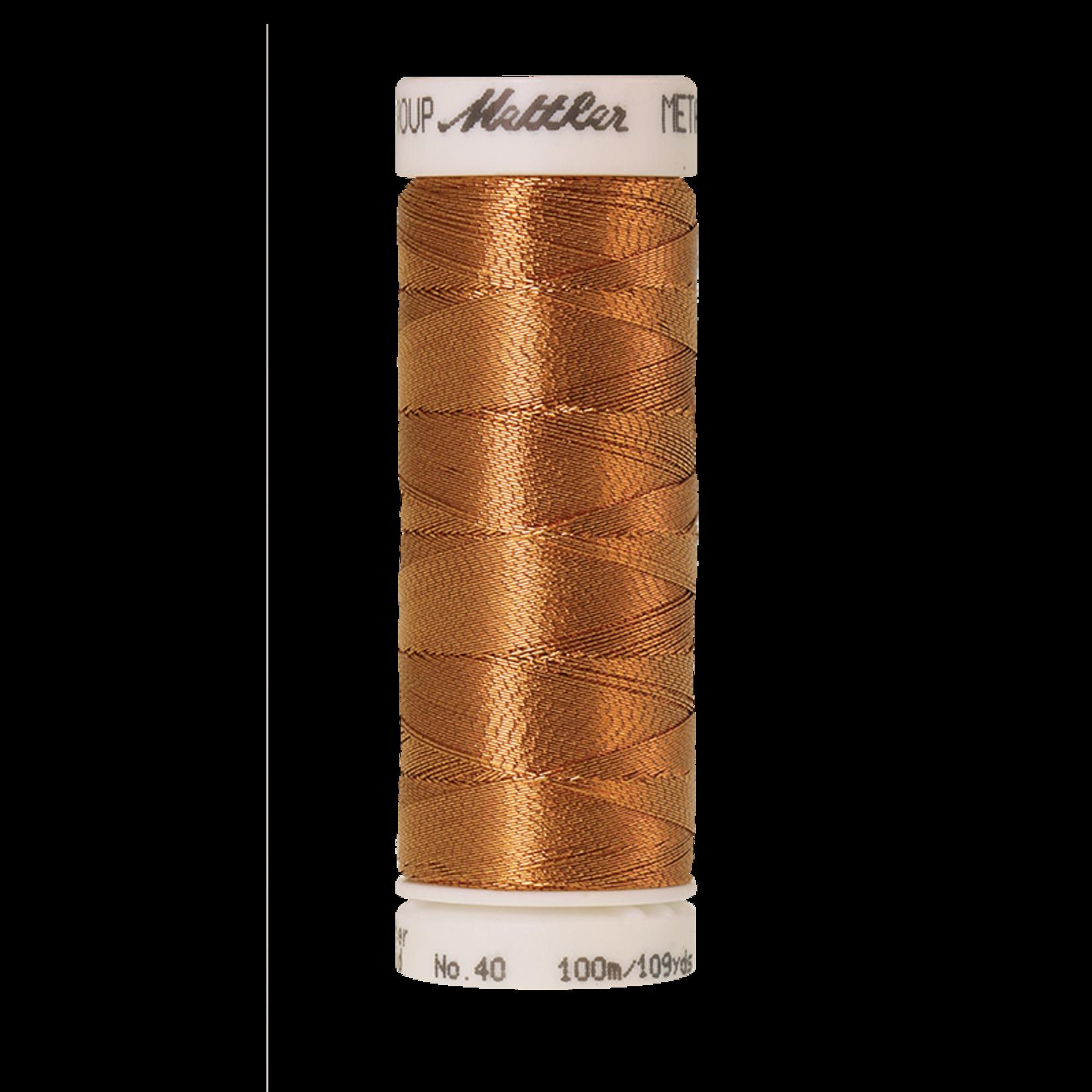 Amann Mettler Metallic - #40 - 100 m - 1134z Copper Gold