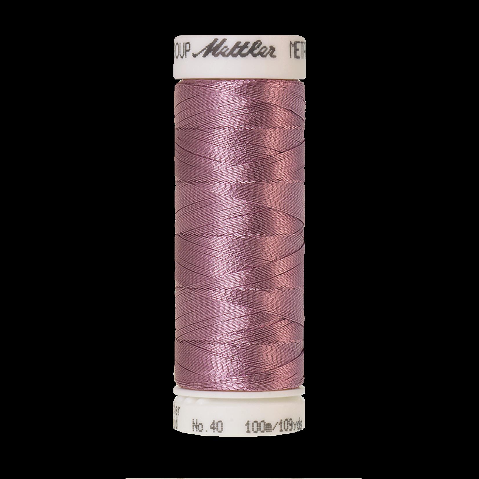 Amann Mettler Metallic - #40 - 100 m - 2830 Bright Amethyst
