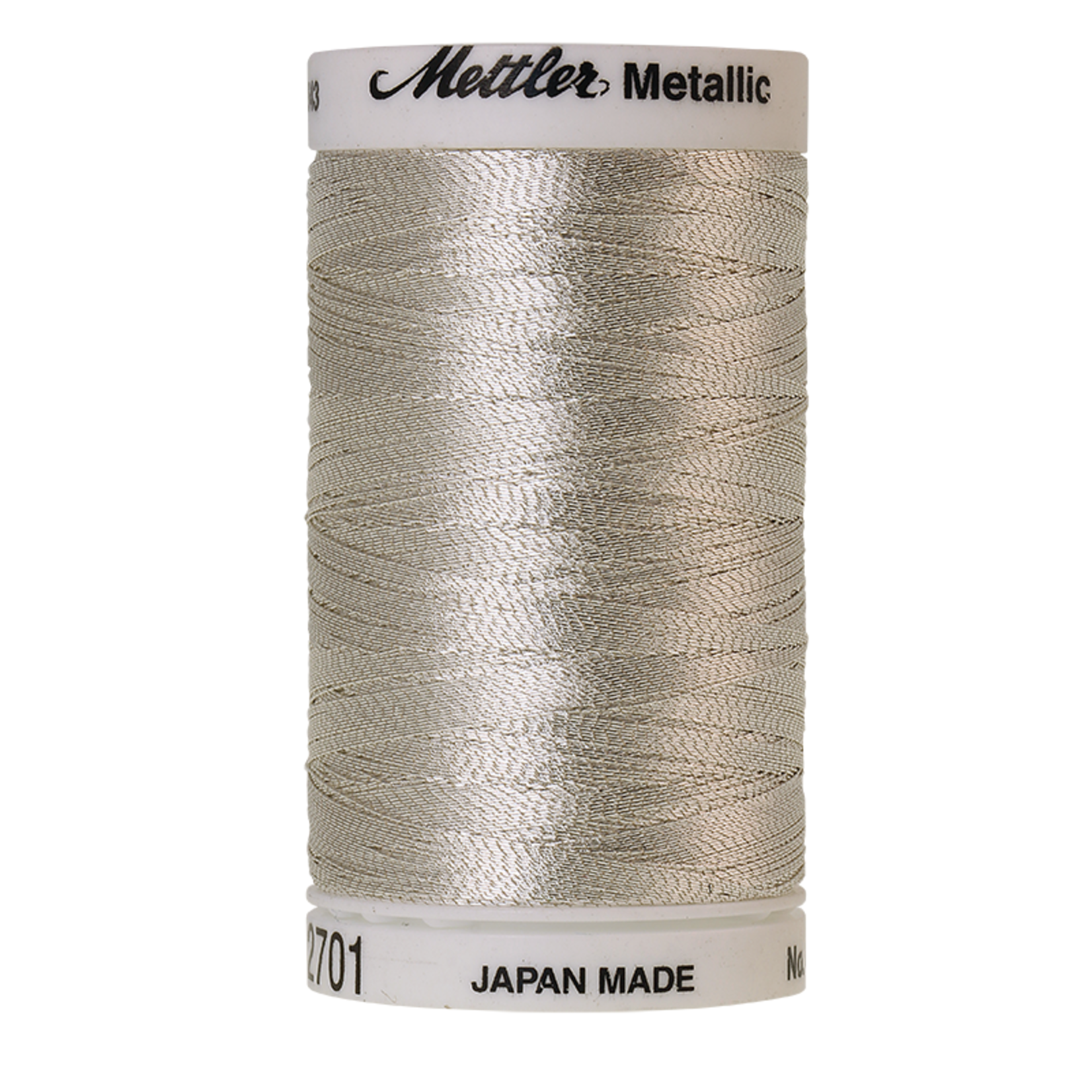 Amann Mettler Metallic - #40 - 600 m - 2701 Silver