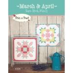 Barn Block Mini's March & April - Sherri K. Falls