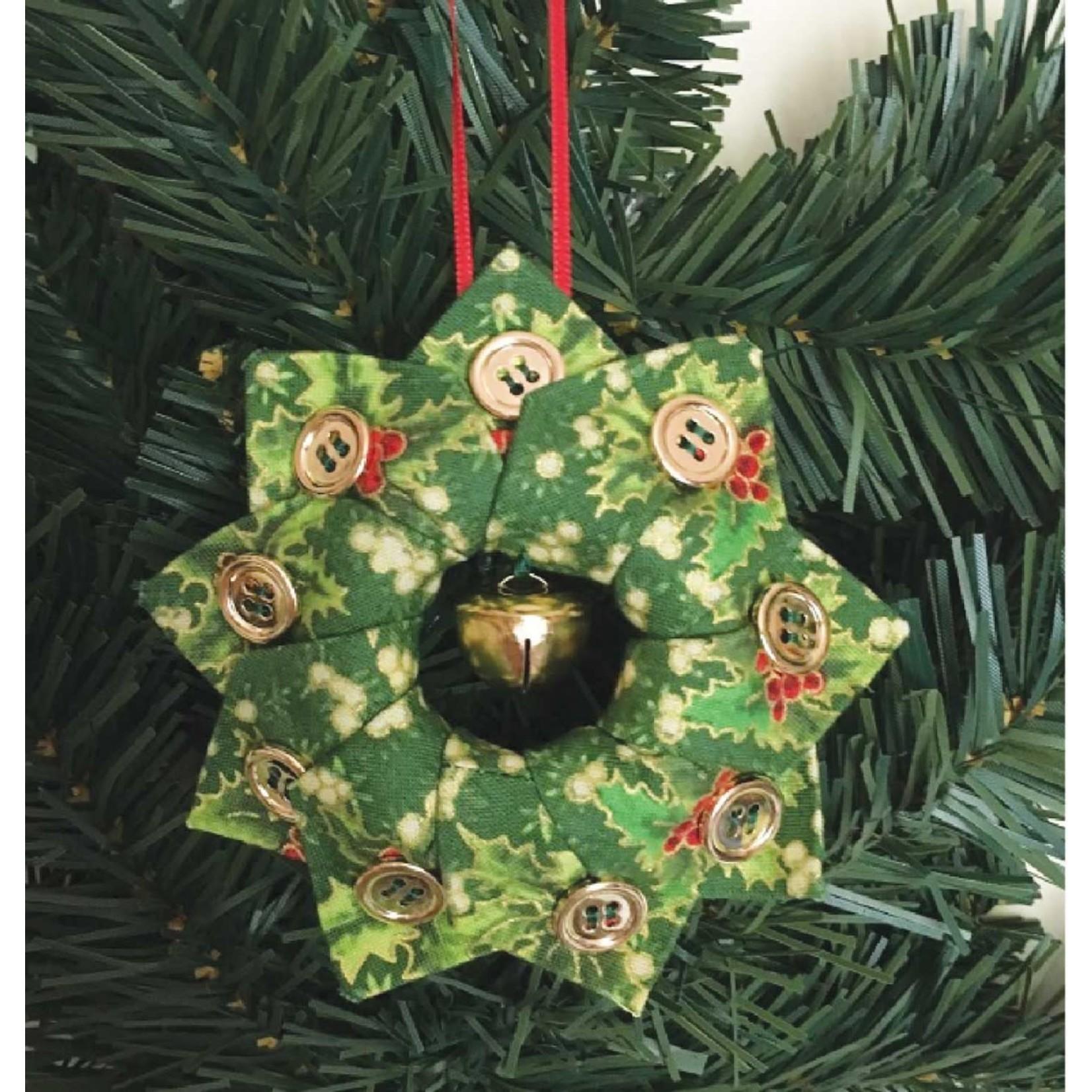 Holiday tree wreath ornament - Betty Gormick