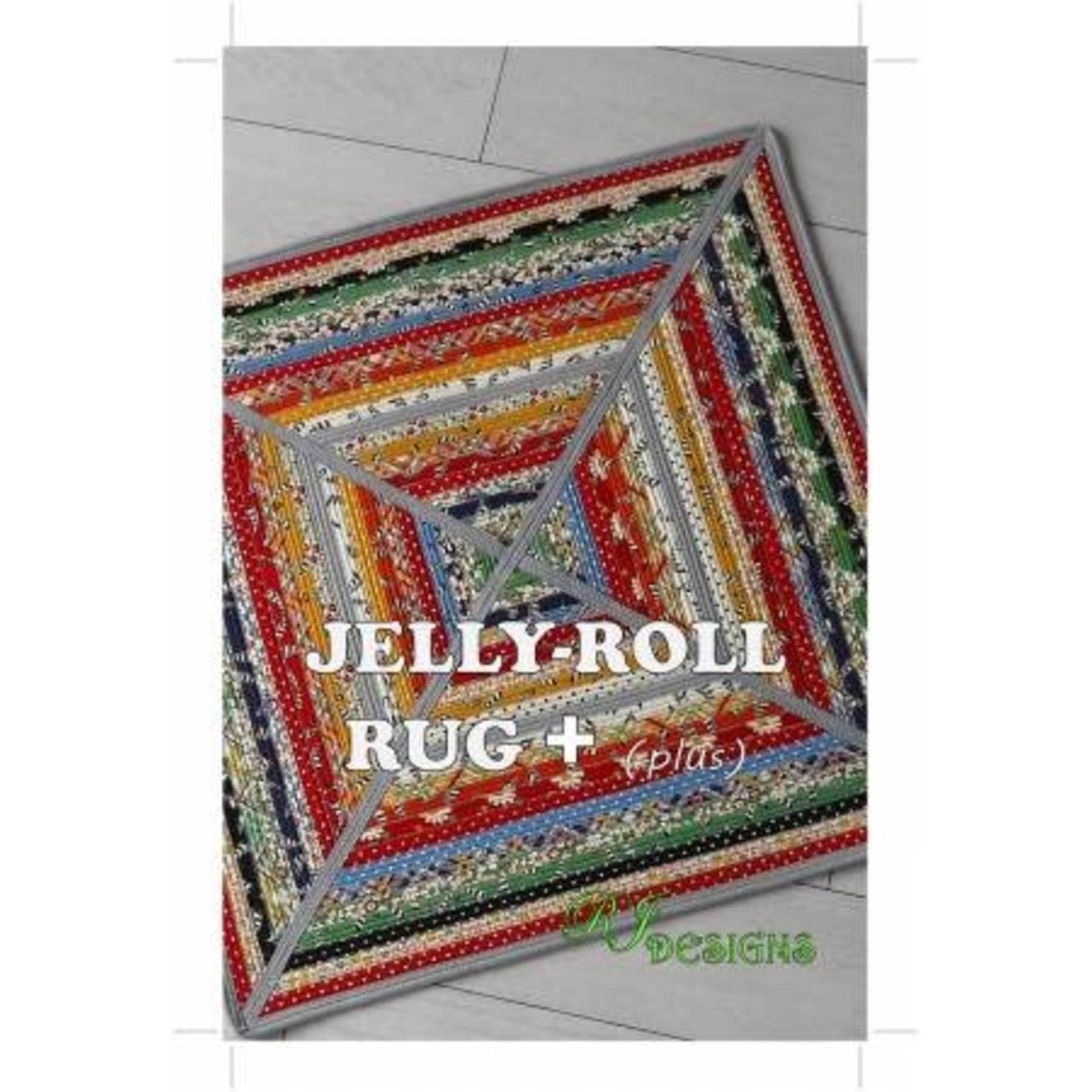 Jelly Roll Rug + (plus) - Roma Lambson