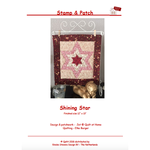 Stamp & Patch Shining Star - Jet@Quilt at Home