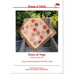 Stamp & Patch Stars of Hope - Jet@Quilt at Home