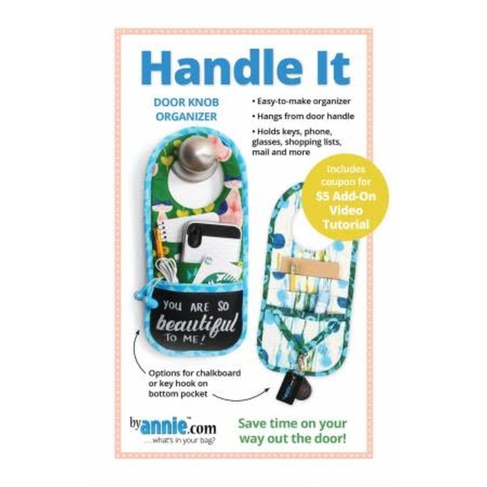 Handle It - Door knob organizer - by Annie.com