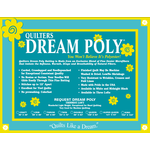 Quilters Dream Polyester - Poly Request - 310 cm x 310 cm King