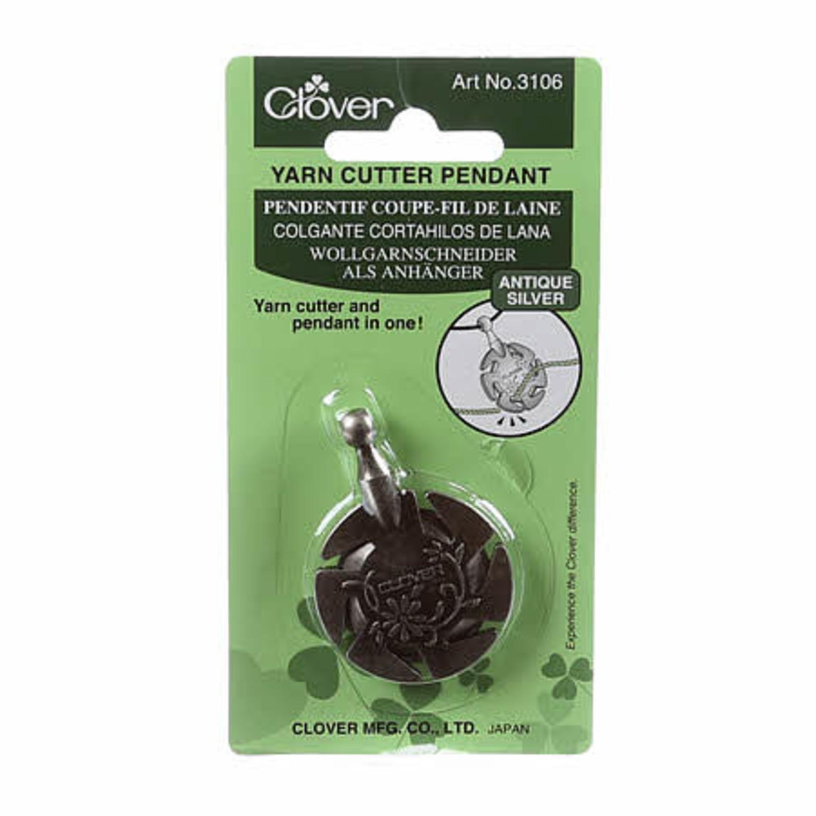 Clover Draadsnijder - Hanger - Voor wol - Antiek zilver