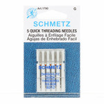 Schmetz Naaimachinenaalden - Quick Threading Needles - 80/14 - 5 stuks