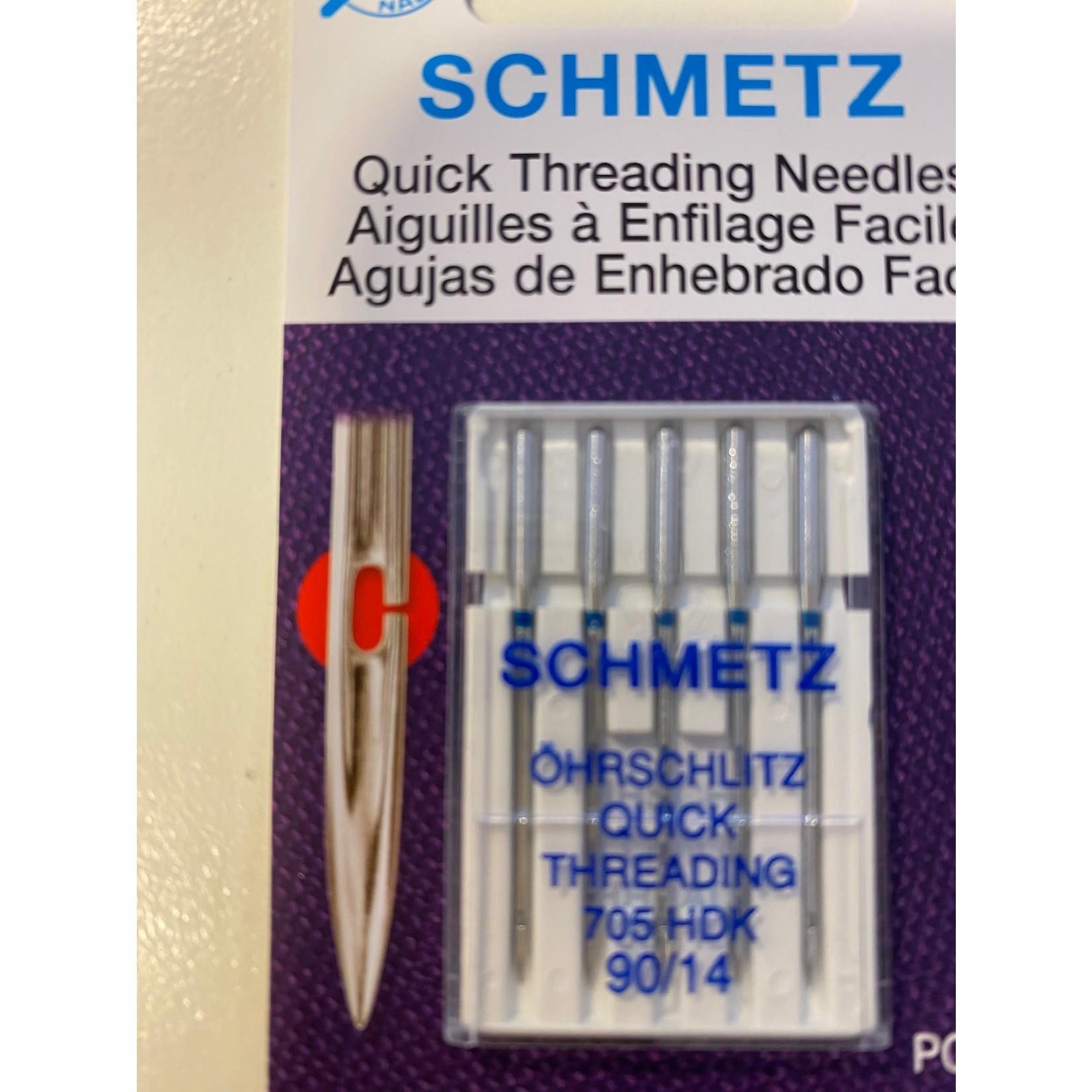 Schmetz Naaimachinenaalden - Quick Threading Needles - 90/14 - 5 stuks