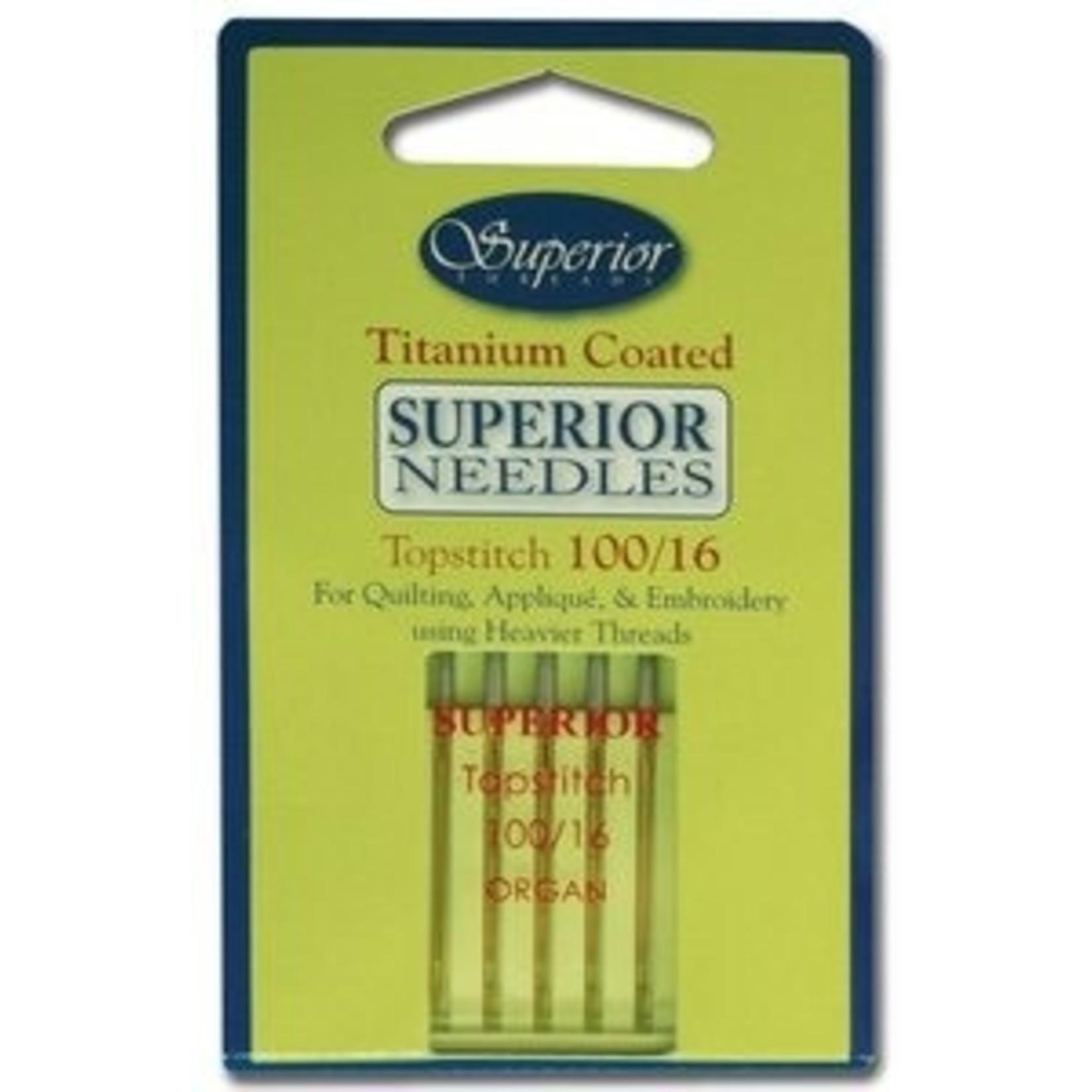Superior Threads Naaimachinenaalden - Topstitch - 100/16 - 5 stuks
