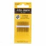 John James Quiltnaalden - Halflang - Size 9 - 20 stuks