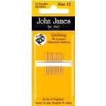 John James Quiltnaalden - Halflang - Size 12 - 12 stuks