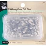 Dritz Spelden - Long Color Ball Pins - 38 mm - 250 stuks