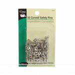 Dritz Veiligheidsspelden - Curved Safety Pins - 26 mm - 50 stuks