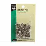 Dritz Veiligheidsspelden - Curved Safety Pins - Assorti - 50 stuks
