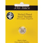 John James Vingerhoed - Nicked Plated Steel - Medium