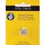 John James Vingerhoed - Nicked Plated Steel - Small