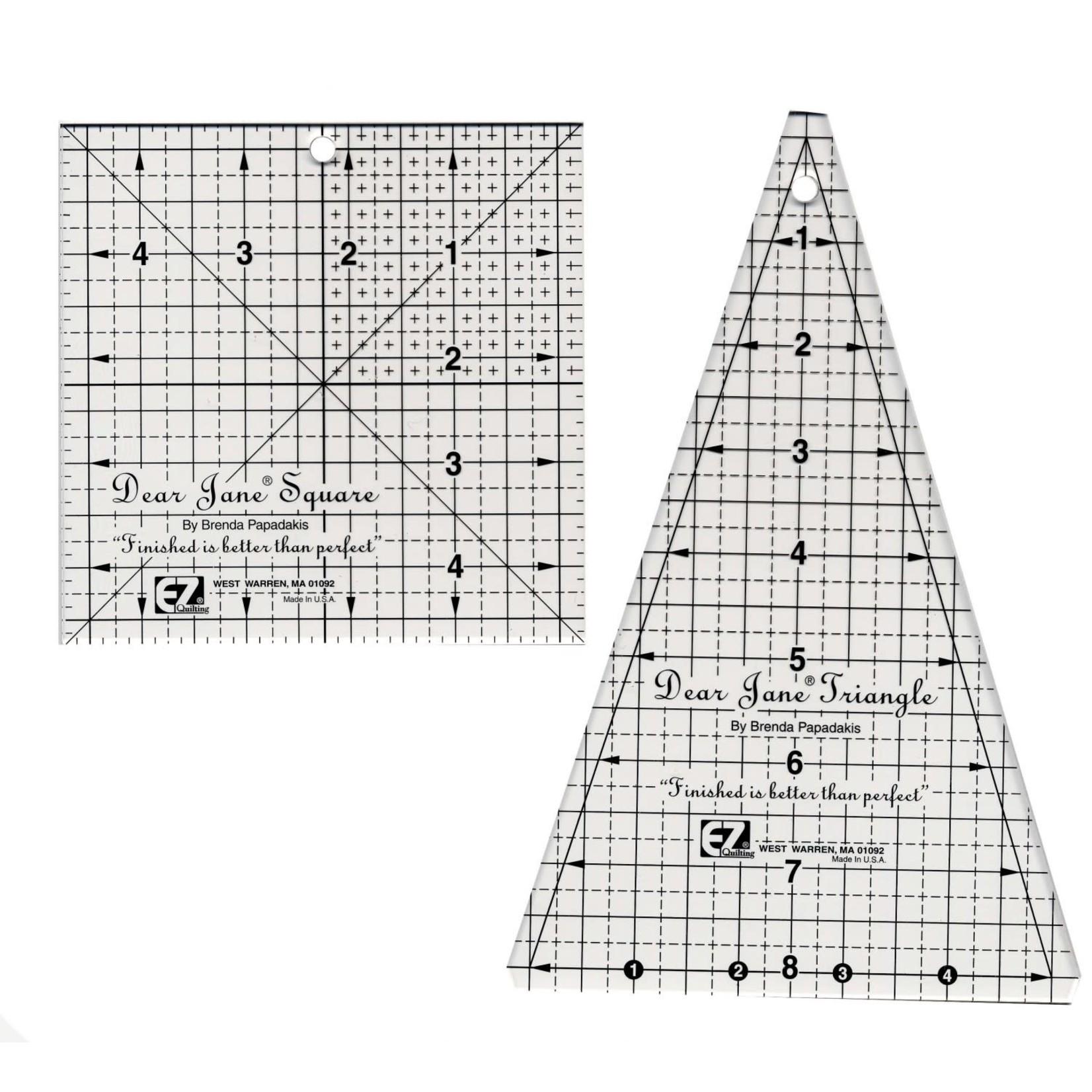 EZ Quilting Liniaal - Dear Jane Set
