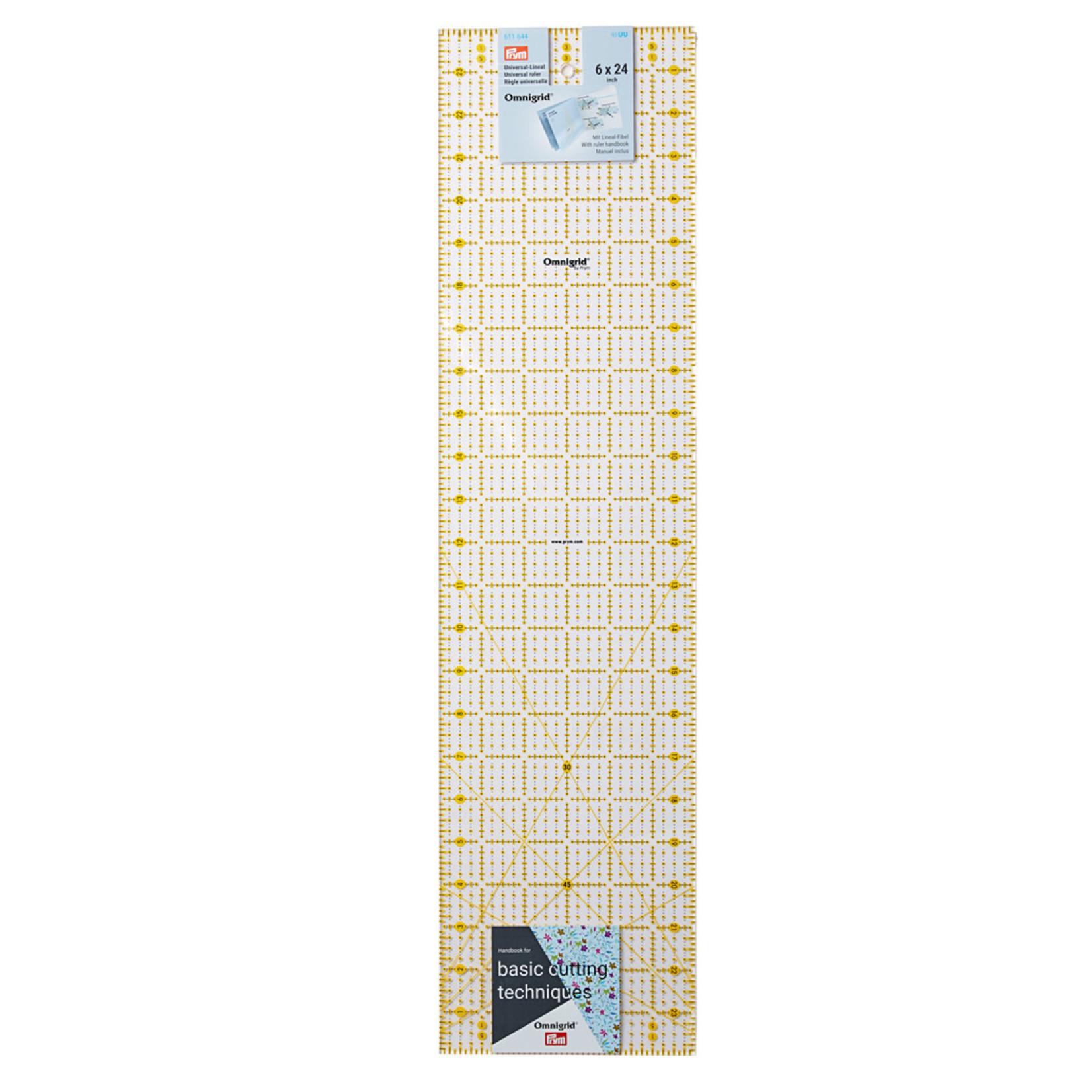 Omnigrid Liniaal - Prym - 6 inch x 24 inch