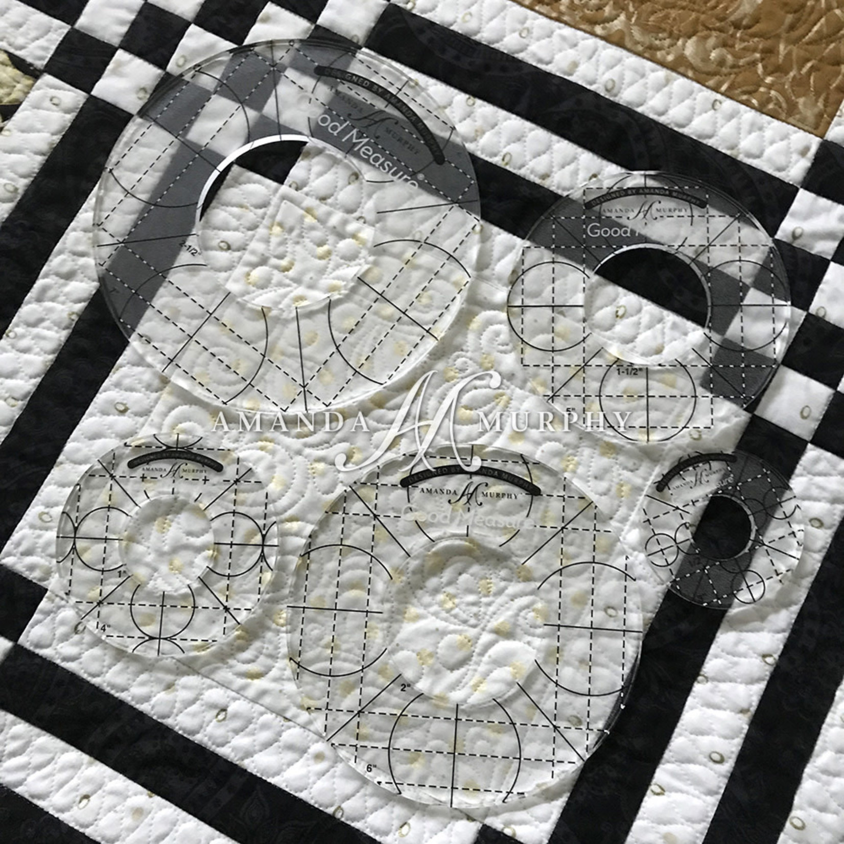 Good Measure QuiltLiniaal - Every Circle - set of 5 - High Shank