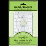 Good Measure QuiltLiniaal - Every Mini Lollipop set of 5 - Low Shank