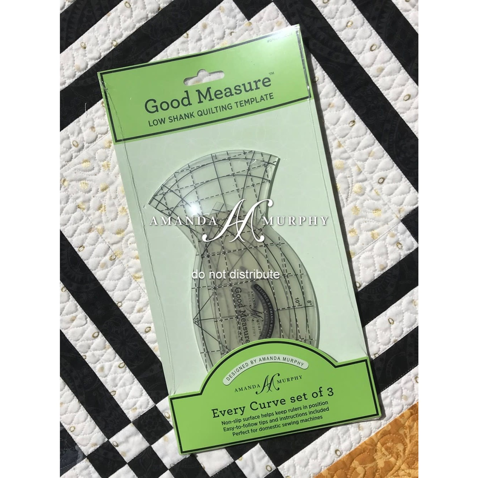 Good Measure QuiltLiniaal - Every Curve - set of 3 - Low Shank