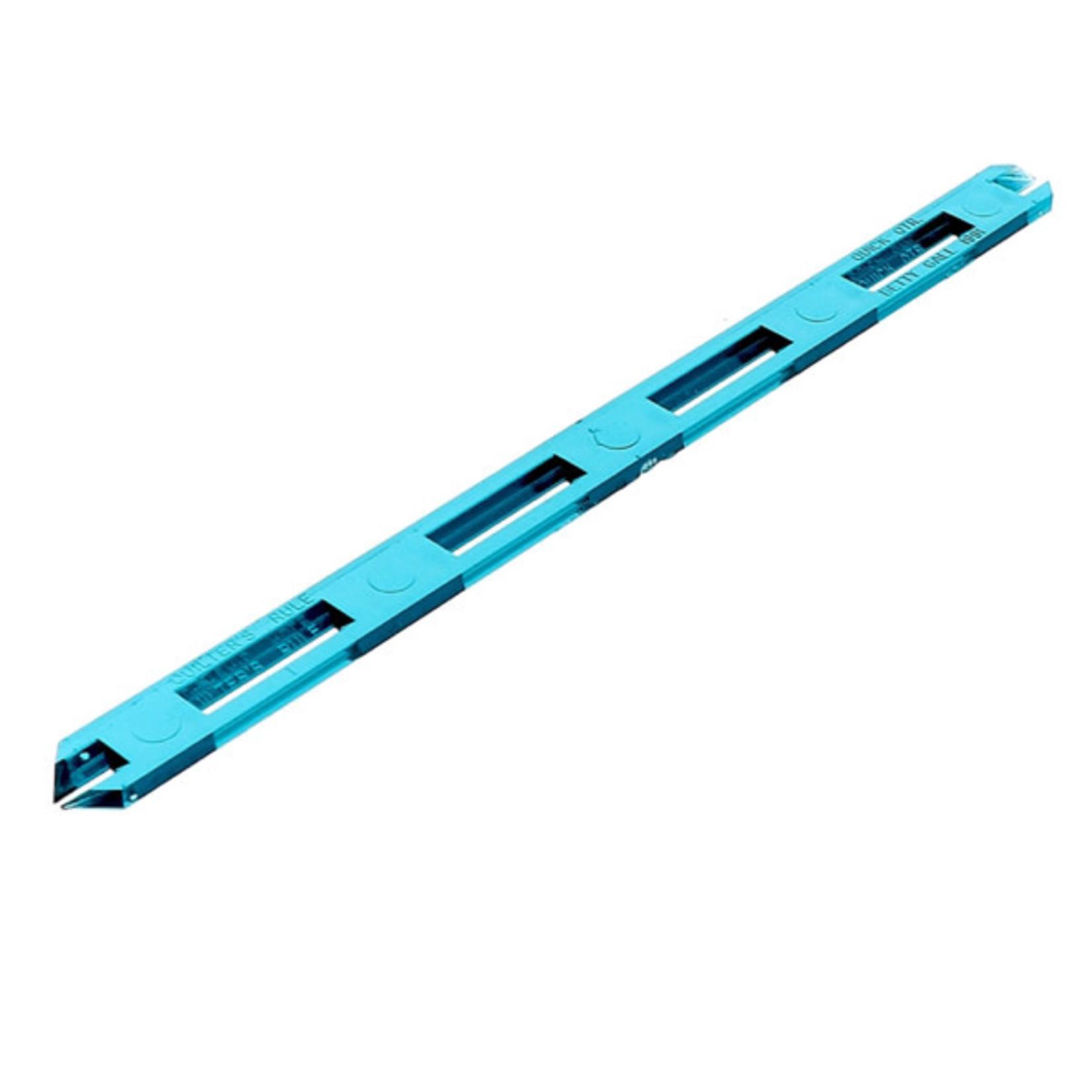 Bohin Liniaal - 1/4inch afmeten - 20cm