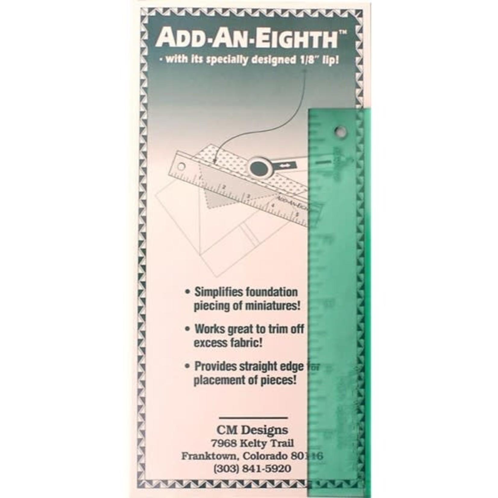 CM designs Liniaal - Add An Eight - 1/8inch - groen