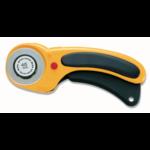 Olfa Rolmes - 45 mm - Geel - Comfort grip