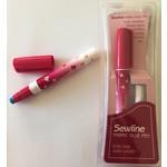 Sewline Lijm - Fabric Glue Pen - Verdwijnt met water - Blauw