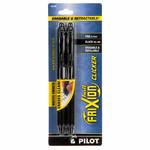 Pilot Markeerpen - Frixion Ball Clicker 07 - Zwart - 2 stuks