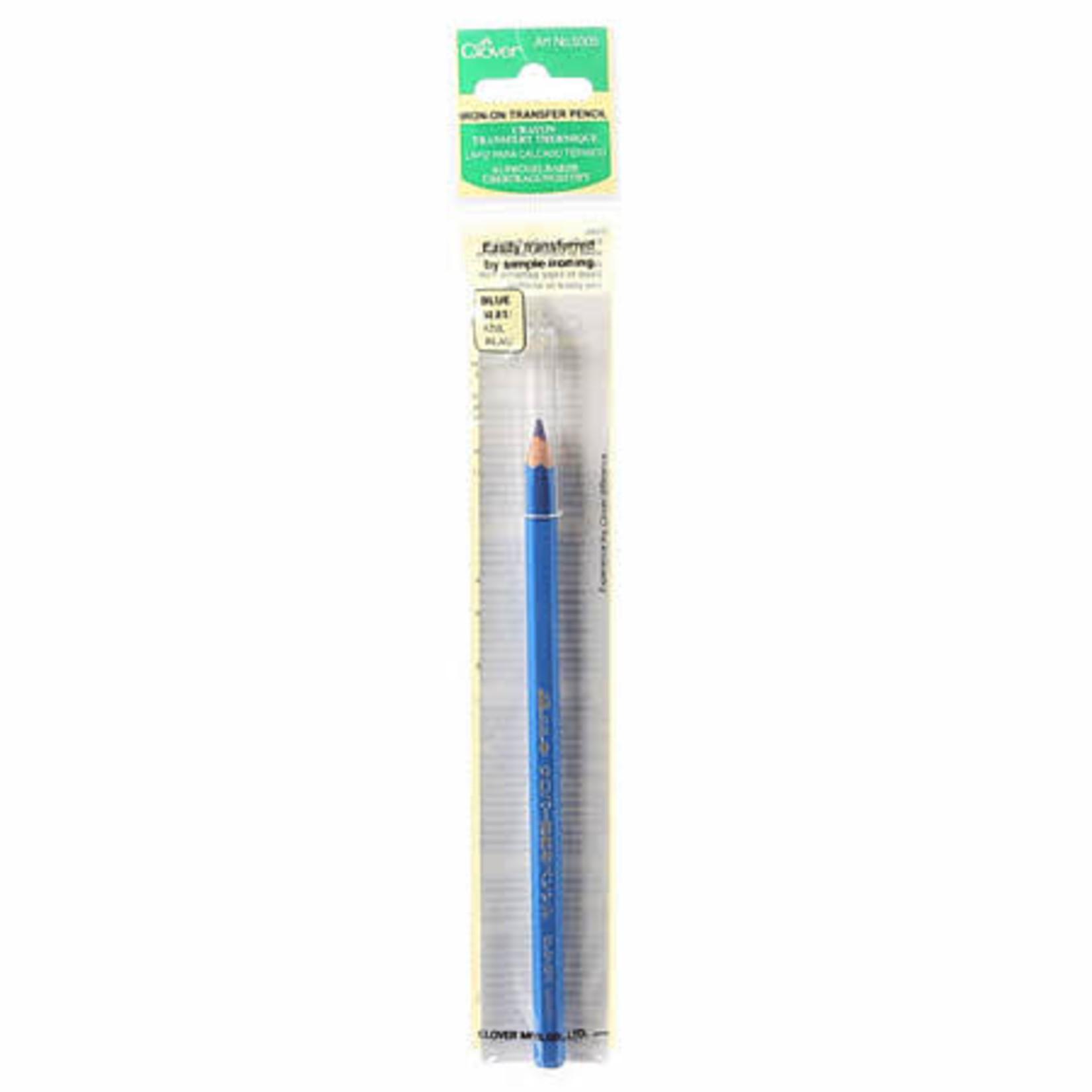 Clover Markeerpotlood 5005 - Iron on Transfer Pencil - Blauw
