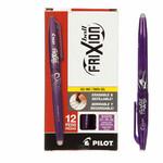 Pilot Markeerpen - Frixion Ball 07 Clip - Verdwijnt met warmte - Paars