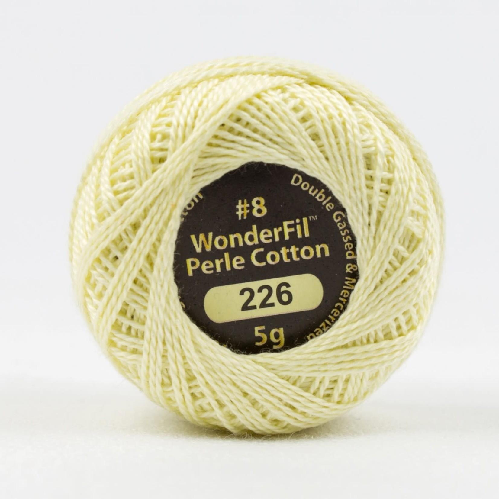 WonderFil Eleganza - #8 - 38 m - 226 Ivory