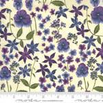 Moda Violet Hill - Floral - Eggshell