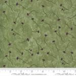 Moda Violet Hill - Thistle Floral - Celery