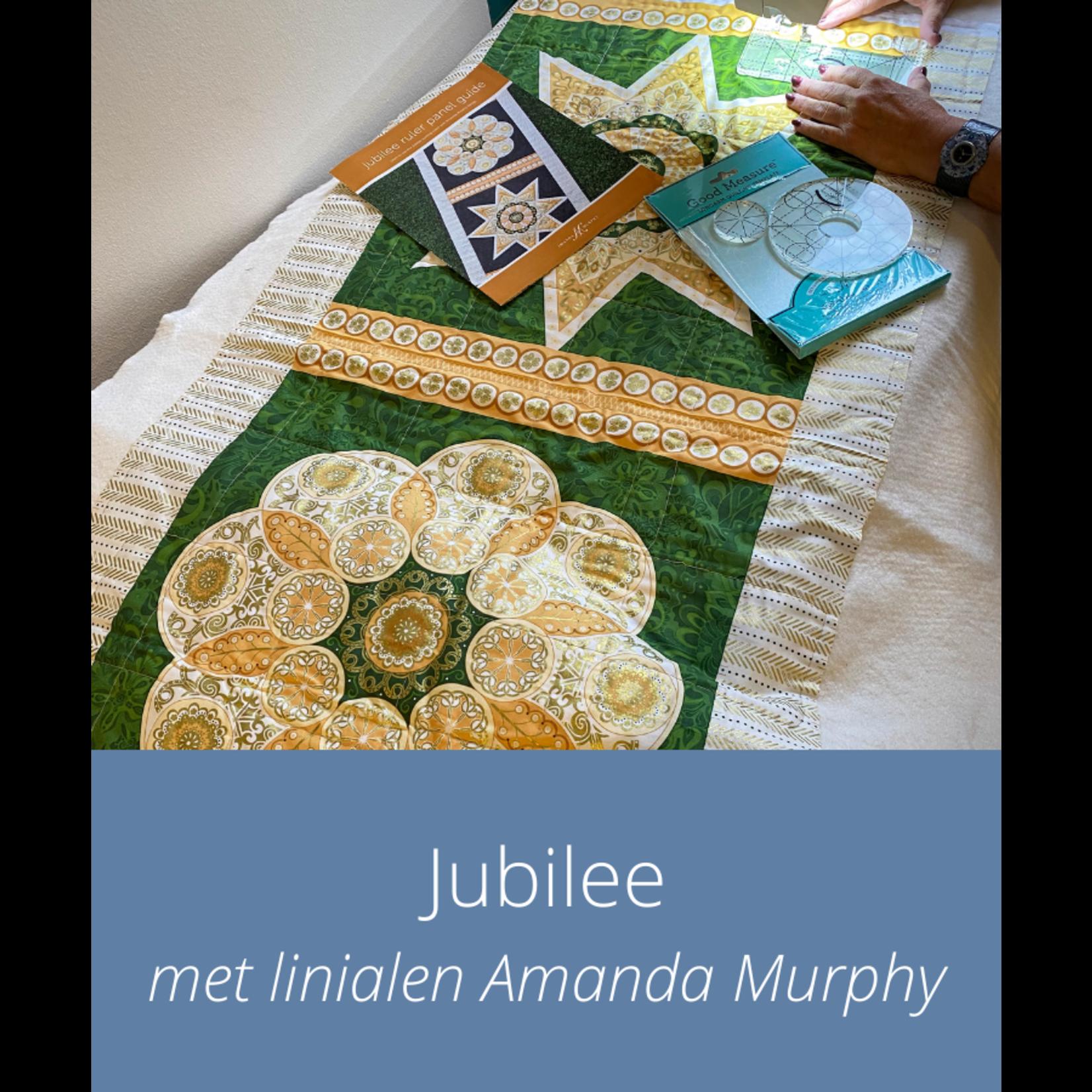 Cursus - Jubilee met linialen Amanda Murphy | do 1 juli