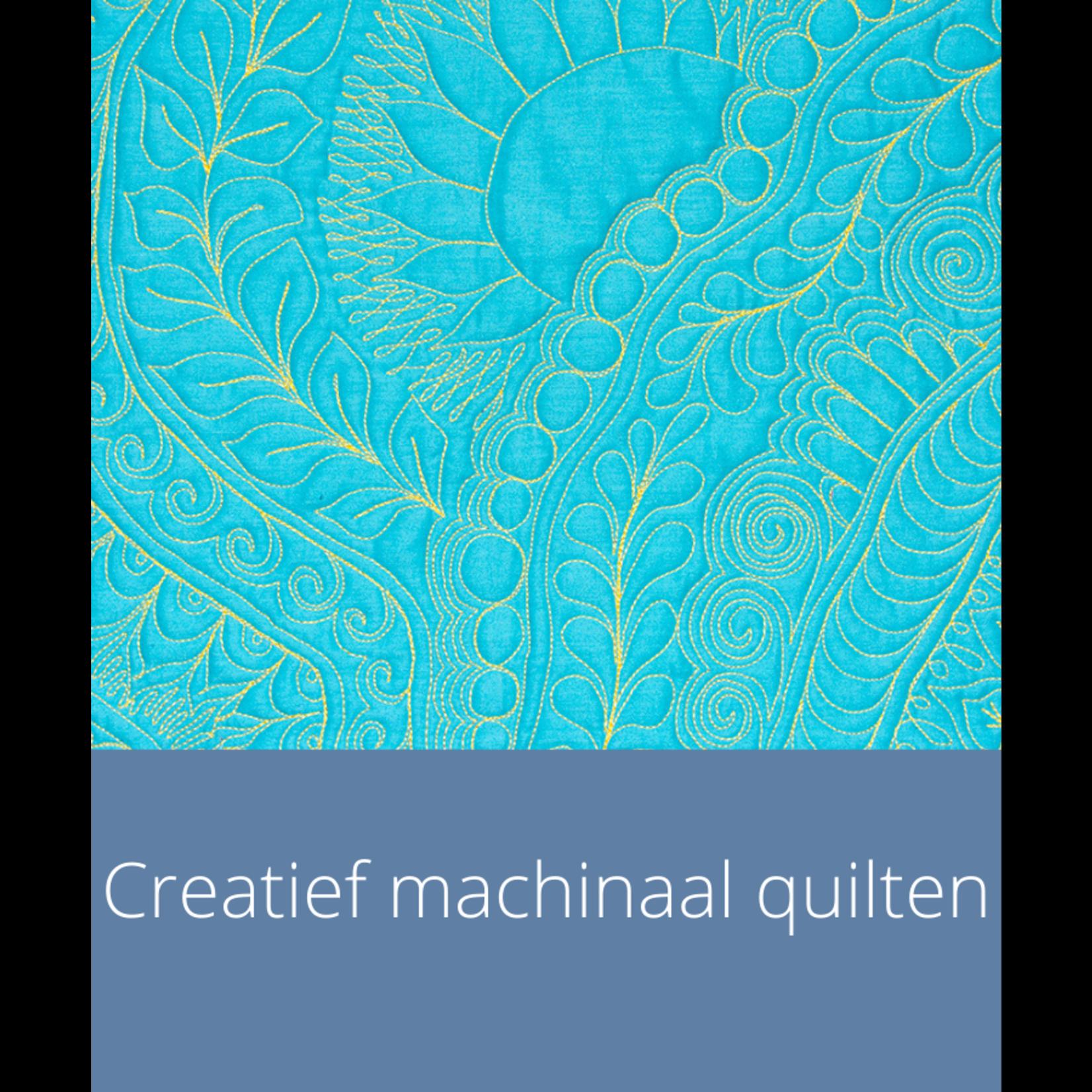 Cursus - Creatief machinaal quilten  | do 25 juli