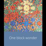 Cursus - One Block Wonder | vrijdag 3 september