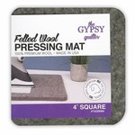 The Gypsy Quilter Strijkmat - Felted wool pressing mat - 4inch x 4 inch