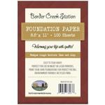Border Creek Station Papier - Foundation paper - 22 cm x 28 cm - 100 stuks