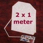 Heleen Pinkster Papier - Theezakjespapier - 100 cm x 2 m