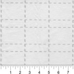 Bosal Vlies - Grid 2,5 inch - Plakbaar - Van de rol (per 10 cm) 125 cm breed