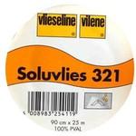 Vlieseline Vlies - Soluvlies - Oplosbaar in koud water - 100 cm x 90 cm