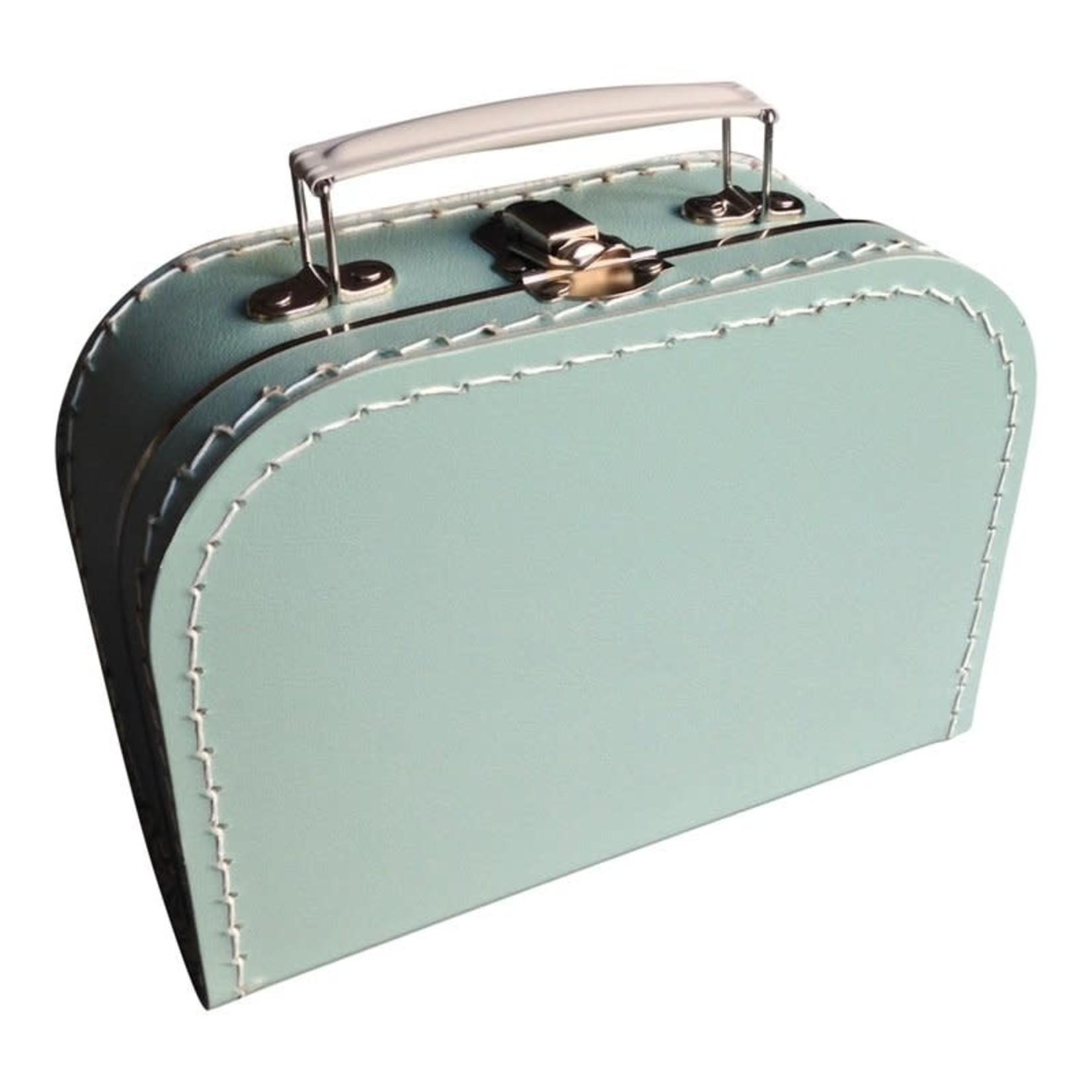 Koffertje - 20 cm x 15 cm x 8 cm - Mint