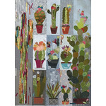 Fiberworks Patroon - Collage Cactus Sampler