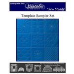 Sew Steady Quiltliniaal - Template Sampler Set - High Shank